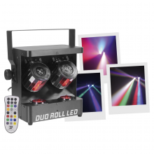 BOOMTONE DJ DUO ROLL LED