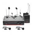 Système de micro complet HF BOOMTONE DJ UHF 20HL F5 F6