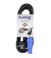 Câble d'alimentation PLUGGER  POWERCON NORME EU 1.8M ELITE1