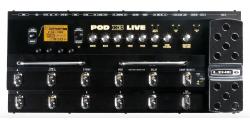 Pédale d'effets guitare électrique Line 6 POD X3 LIVE