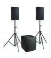 Système de sono amplifié DEFINITIVE AUDIO KOALA NEO 2400 TRI