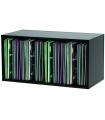 Casier de rangement pour disques vinyles GLORIOUS DJ RECORD BOX 230 BLACK