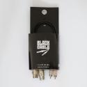 BLACK CABLE CORDON BRETELLE RCA/XLR 0.6M