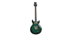 PRS Carlos Santana Emerald Green (CSEG) face