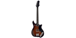 HAGSTROM IMPALA RETROSCAPE BROWN SUNBURST