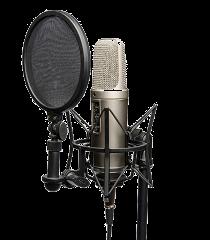 Micro de studio pour chant