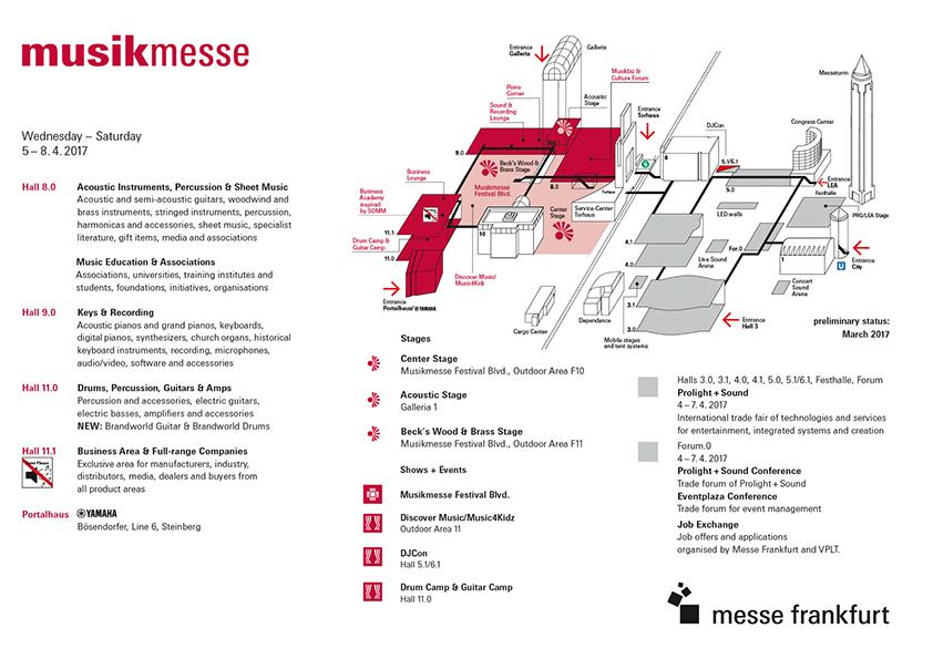 Plan Musikmesse