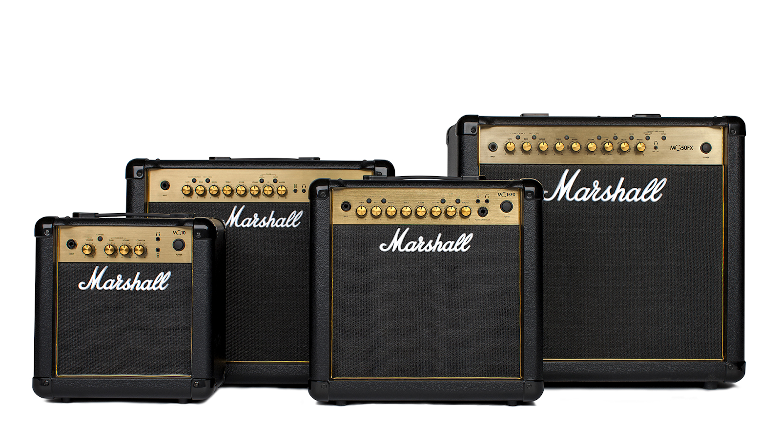 MARSHALL MG GOLD - NEW 2018 Learn, practice, master