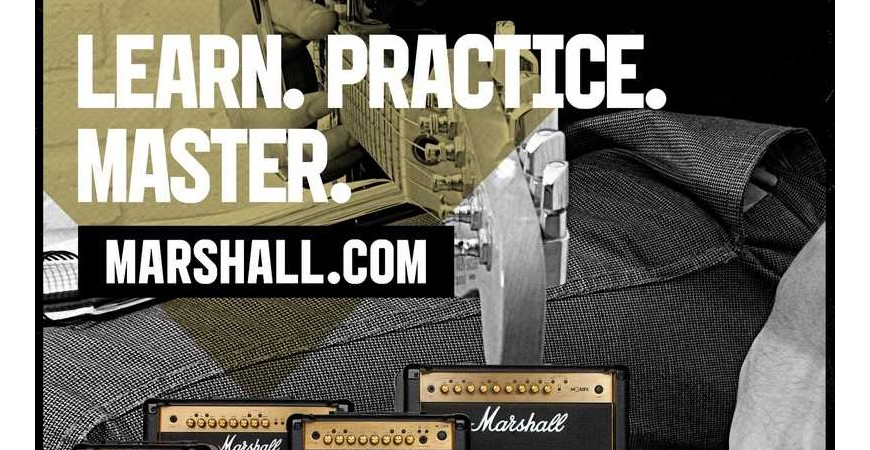 MARSHALL MG GOLD
